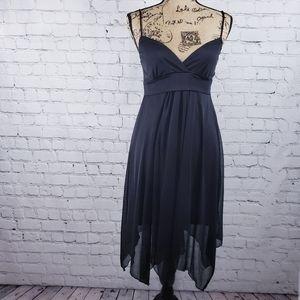 Charlotte Russe black high low cocktail dress